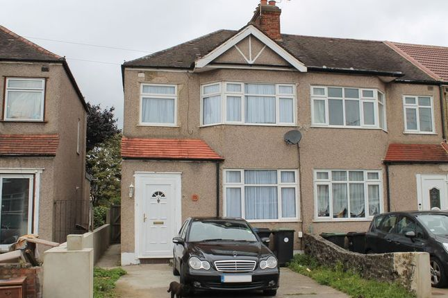 Thumbnail End terrace house for sale in Newbury Avenue, Enfield