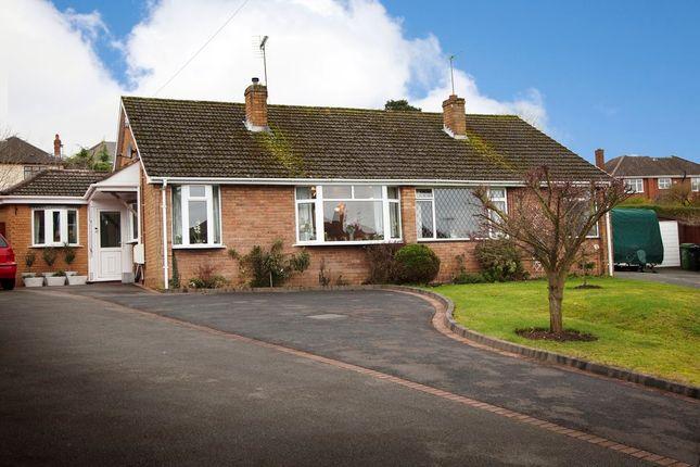 Thumbnail Semi-detached bungalow for sale in Essex Gardens, Wollaston, Stourbridge
