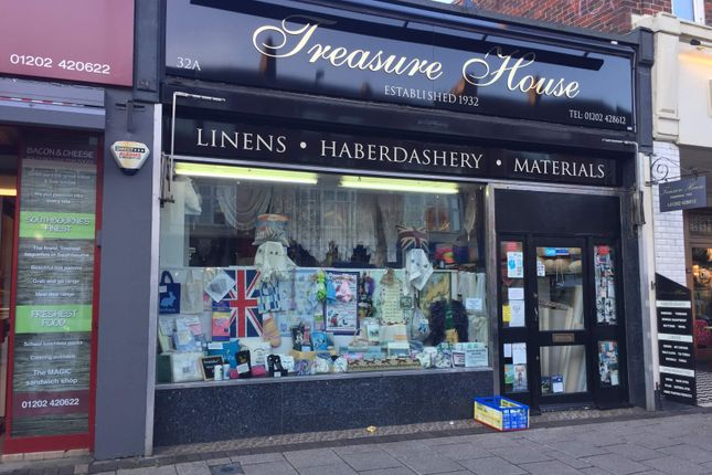 Thumbnail Commercial property to let in Retail Shop, Bournemouth