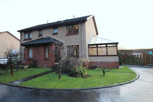 Thumbnail Semi-detached house for sale in Linwell Court, Kinghorn Road, Burntisland