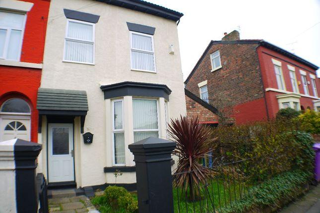 Thumbnail Semi-detached house to rent in Laburnum Road, Liverpool
