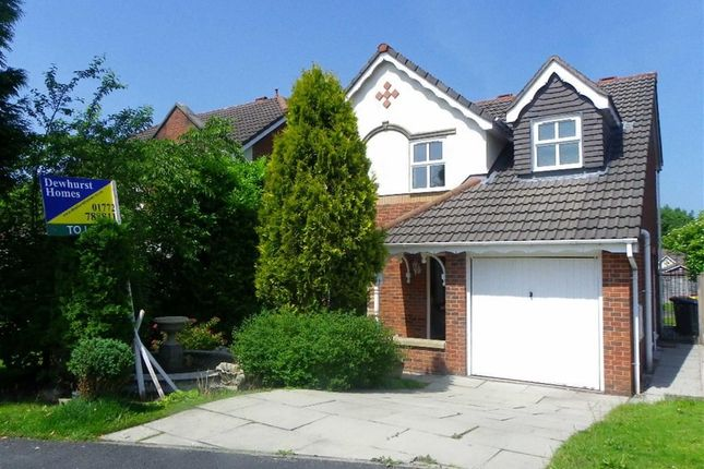 Thumbnail Detached house to rent in Squires Wood, Fulwood, Preston