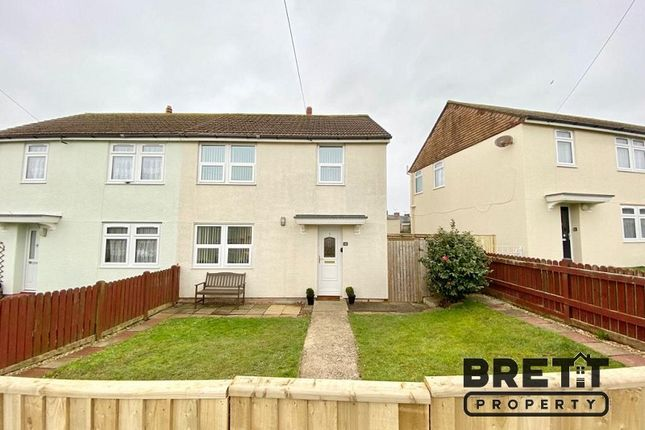 3 bed semi-detached house for sale in Richard John Road, Milford Haven, Pembrokeshire. SA73