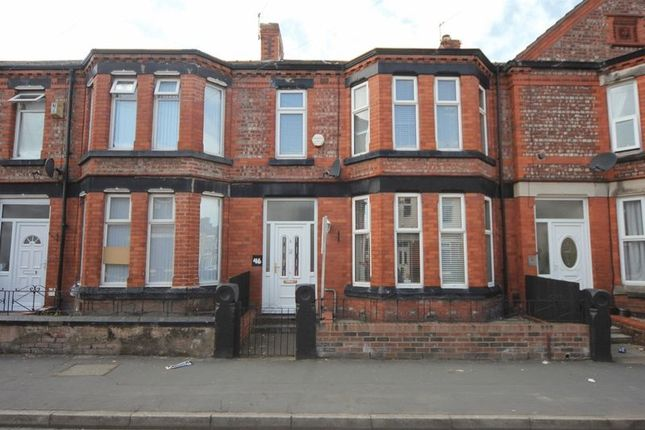 Thumbnail Terraced house for sale in Highfield Road, Rock Ferry, Wirral