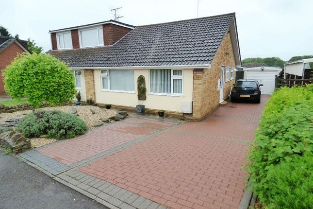 Thumbnail Semi-detached bungalow for sale in Dunster Close, Tuffley, Gloucester