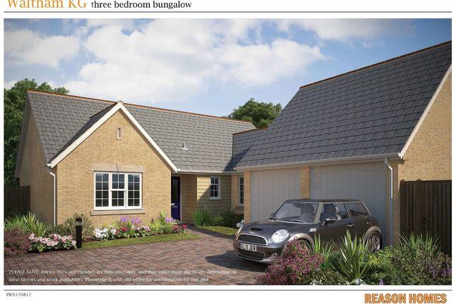 Thumbnail Detached bungalow for sale in Wood Street, Doddington, March