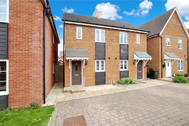 2 bed semi-detached house to rent in Bracken Way, Malvern, Worcestershire WR14