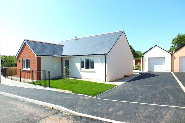 Detached bungalow for sale in Plot 5, Bowett Close, Hundleton, Pembroke