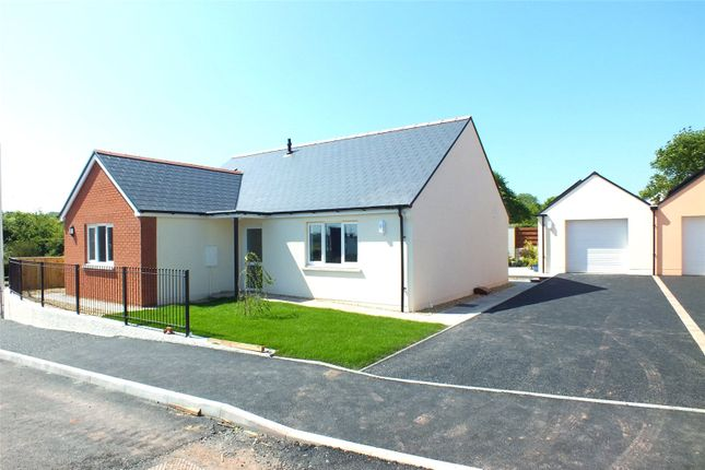 Thumbnail Detached bungalow for sale in Plot 5, Bowett Close, Hundleton, Pembroke