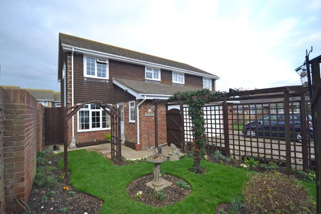 Thumbnail Semi-detached house for sale in Saddle Lane, Selsey