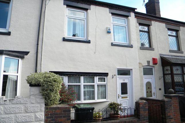 Thumbnail Terraced house to rent in Sackville Street, Basford, Stoke-On-Trent