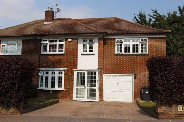 Thumbnail Semi-detached house for sale in Hawkwood Crescent, North Chingford, London