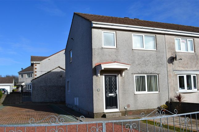 Thumbnail Semi-detached house to rent in Chatsworth Drive, Whitehaven, Cumbria