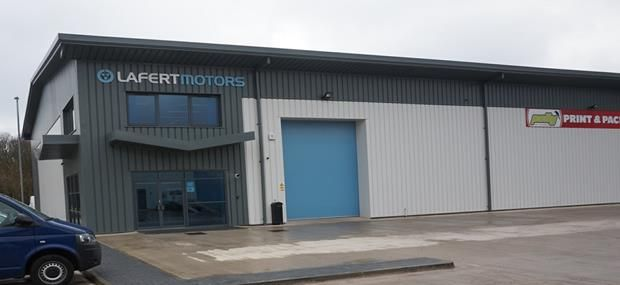 Thumbnail Commercial property for sale in Units 17 And 20 Orion Park, University Way, Crewe, Cheshire