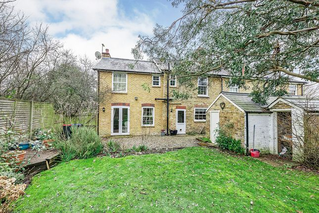 Semi-detached house for sale in Woodside Cottages, Upper Harbledown, Canterbury, Kent
