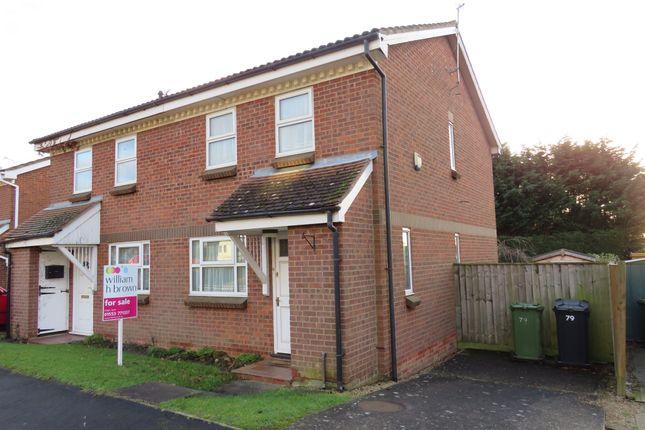 Thumbnail Semi-detached house for sale in Corbyn Shaw Road, King's Lynn