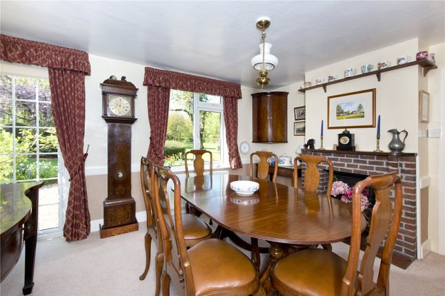 Dining Room of Goathurst Common, Ide Hill, Sevenoaks, Kent TN14