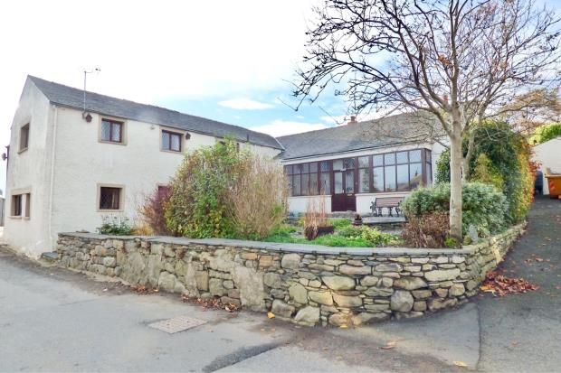 Thumbnail Link-detached house for sale in Winander, Leece, Ulverston, Cumbria