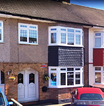 Thumbnail Terraced house to rent in South Hall Drive, Rainham, Essex