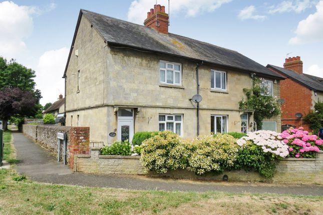 Thumbnail Semi-detached house for sale in The Warren, Hardingstone, Northampton
