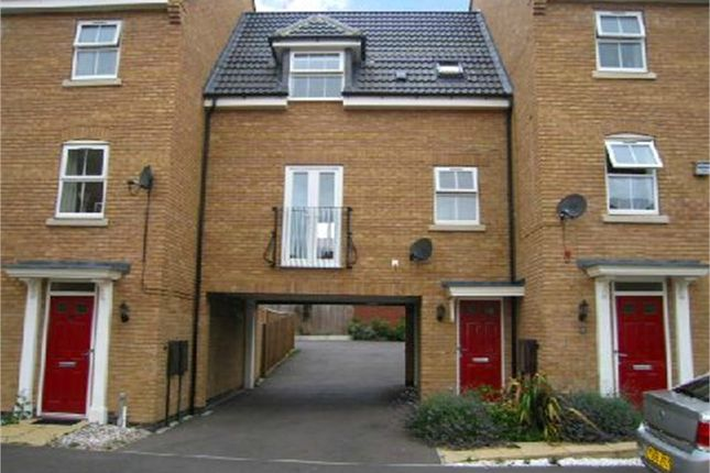 Thumbnail Terraced house to rent in Spellow Close, Coton Meadows, Rugby, Warwickshire