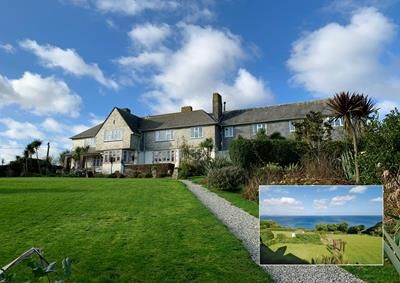 Thumbnail Hotel/guest house for sale in Trevalsa Court Hotel & Restaurant, School Hill, Mevagissey, St. Austell, Cornwall
