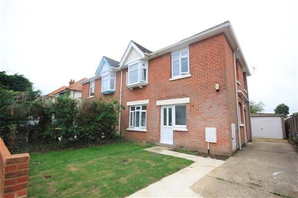 Thumbnail Semi Detached House To Rent In Southill Road Bournemouth