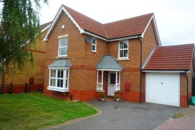 Thumbnail Detached house to rent in Eglantine Close, Oadby, Leicester