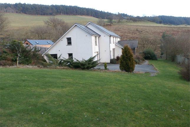 Thumbnail Detached house for sale in Creignant, Llanafan, Aberystwyth, Ceredigion