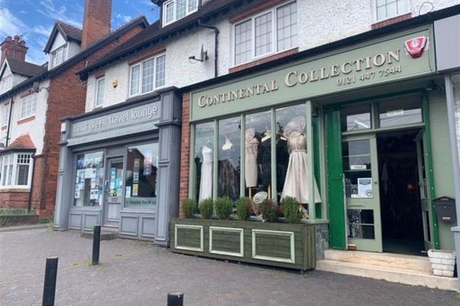Thumbnail Retail premises for sale in Hewell Road, Barnt Green, Birmingham
