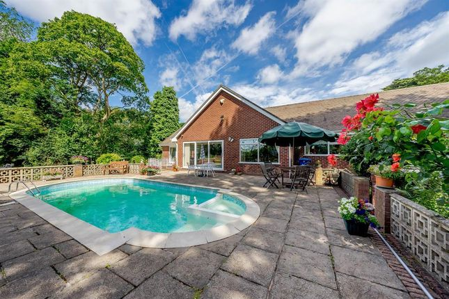 Thumbnail Detached bungalow for sale in Stowe Hill Gardens, Lichfield