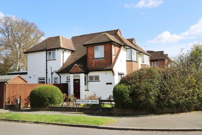 Thumbnail Link-detached house for sale in Motspur Park, New Malden