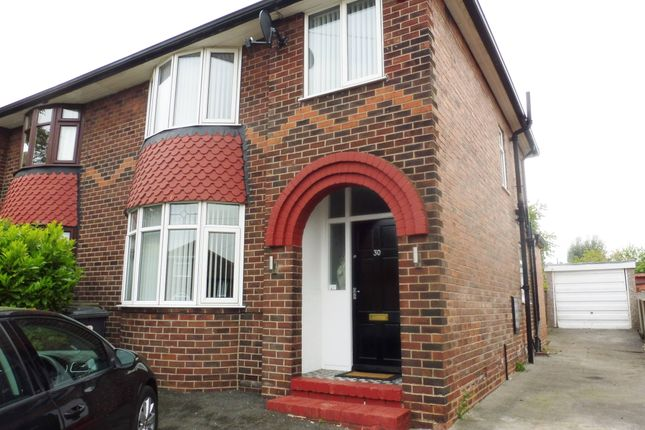 Thumbnail Semi-detached house to rent in Fitzwilliam Avenue, Wath Upon Dearne