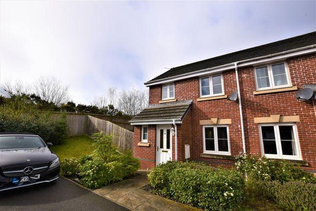 Thumbnail Semi-detached house to rent in Ffordd Y Dolau, Llanharan, Pontyclun