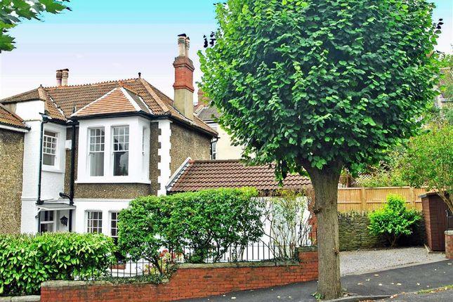 Thumbnail Semi-detached house for sale in Codrington Road, Bishopston, Bristol