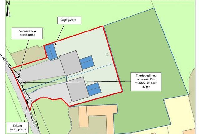 Thumbnail Land for sale in Quince Farm, Spring Lane, Yaxham, Dereham, Norfolk.