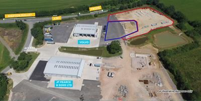 Thumbnail Light industrial to let in Open Storage Land, Leighton Business Park, Wanstrow, Shepton Mallet, Somerset