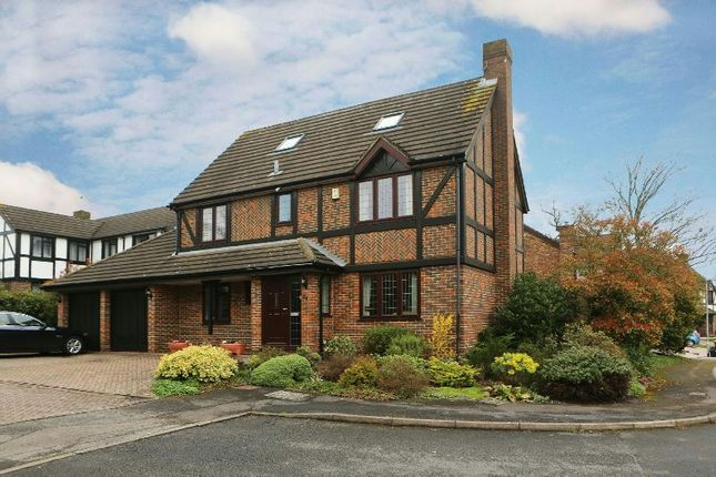 Thumbnail Detached house for sale in Kerris Way, Earley, Reading