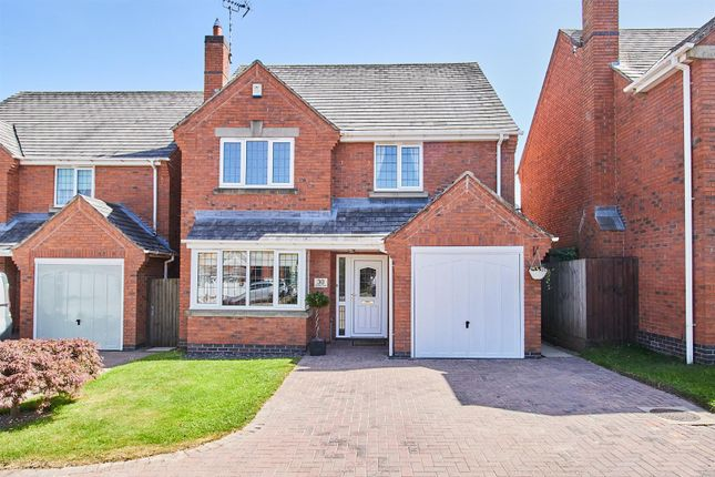 Thumbnail Detached house for sale in Lychgate Close, Burbage, Hinckley