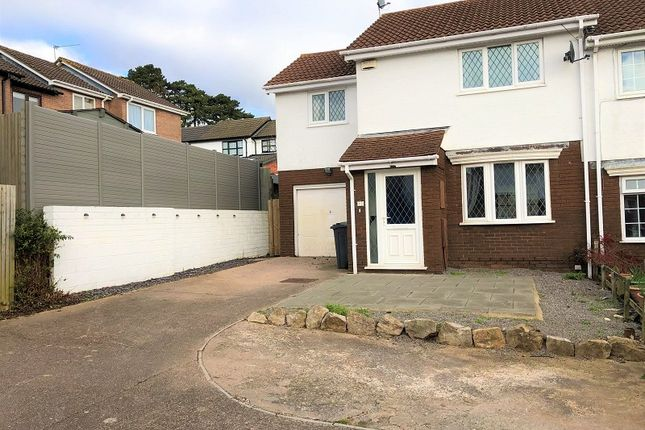 Thumbnail End terrace house for sale in Vaindre Close, St. Mellons, Cardiff.