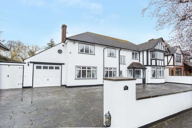 Thumbnail Detached house for sale in Woodlands Road, Bushey
