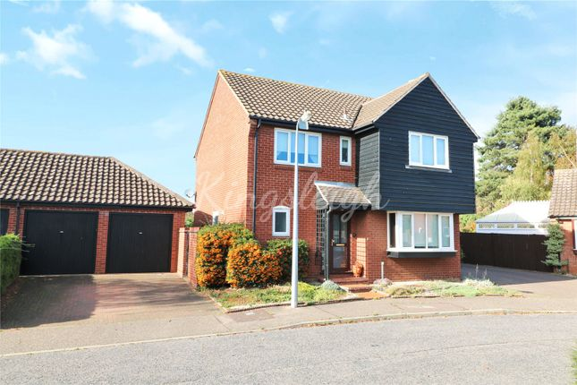 Thumbnail Detached house for sale in Chapel Croft, Ardleigh, Colchester, Essex