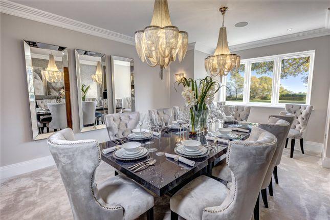 Dining Room of Woodlands Glade, Beaconsfield, Bucks HP9