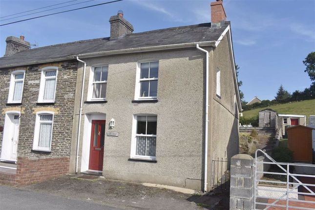 Thumbnail Semi-detached house for sale in Cribyn, Lampeter