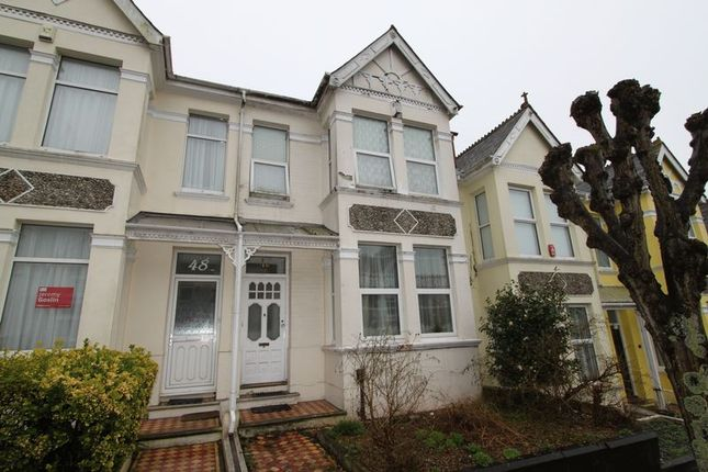 Thumbnail Terraced house for sale in Edgcumbe Park Road, Peverell, Plymouth