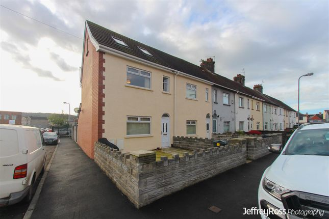 Thumbnail End terrace house to rent in Robert Street, Ely, Cardiff
