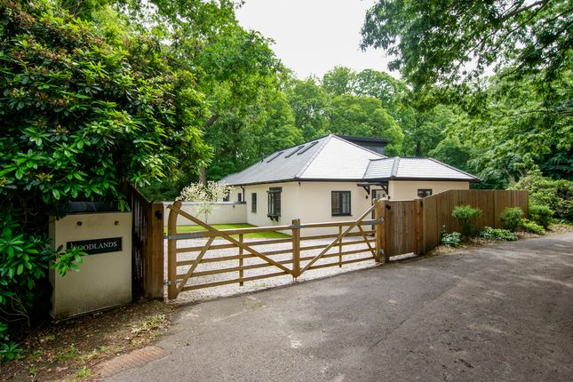 Thumbnail Detached bungalow for sale in Minley Road, Fleet