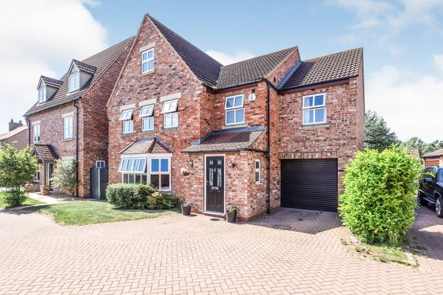 Thumbnail Detached house for sale in The Poplars, Epworth, Doncaster