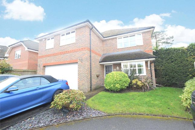 Thumbnail Detached house to rent in Dundaff Close, Camberley, Surrey