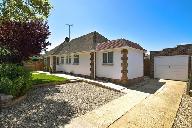 Thumbnail Detached bungalow for sale in Windermere Crescent, Goring-By-Sea, Worthing, West Sussex